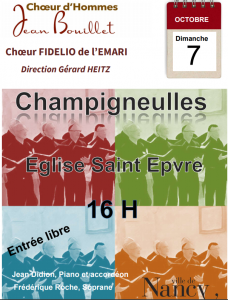 Affiche Champigneulles