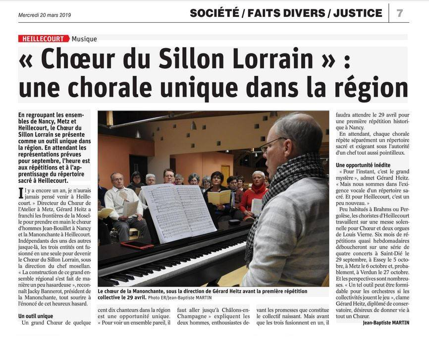 CSL une chorale unique