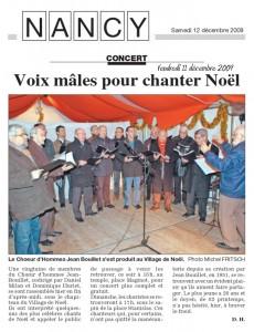 Voix males pour chanter Noel_dec 2009